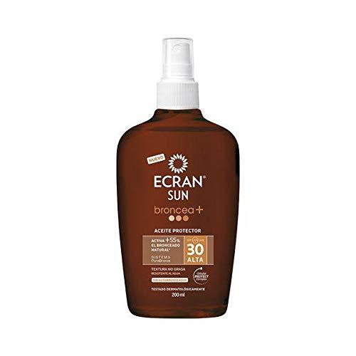 Ecran Aceite Protector, 30 UVA - 200 ml