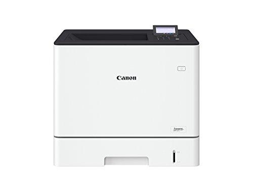 Canon i-SENSYS LBP712Cx; Farblaserdrucker; bis zu 38 S./Min. (Din A4); 5-Zeilen-LCD; USB 2.0 High-Speed; Ethernet (38 Seiten Pro Minute Drucken)