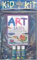 The Usborne book of Art Skills: Over120 Ideas for Pastels, Printing, Rubbings, Resist Effects, Tissue Paper, Found Objects, Splattering, Drawing, Painting, Paper Collage, Watercolors (Kid Kits) -