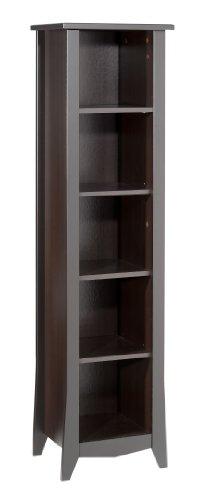 Nexera umgekehrt 5-shelf Bücherregal espresso