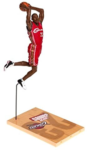 McFarlane Toys NBA Sports Picks Series 5 Action Figure LeBron James Red Jersey Variant by Unknown
