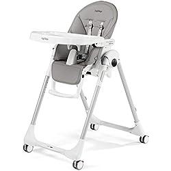 Peg Perego Chaise-haute pour bébé Follow Me Ice