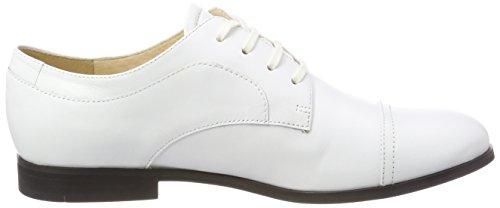 Jil Sander Iconic, Derbys Femme Weiß (Bianco)