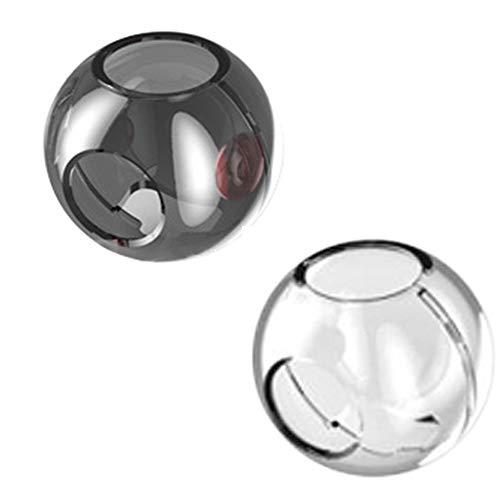 tzhülle, Controller Tasche für Pokeball Plus Controller Tasche - Eva Wasserdichte Hülle/Case / Tragetasche/Aufbewahrungsbeutel für Pokemon Poké Ball Plus (Klar) ()
