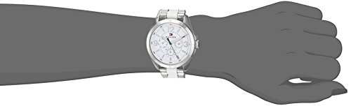 Tommy Hilfiger Women's 'SOPHISTICATED SPORT' Quartz Stainless Steel Casual Watch, Color Silver-Toned (Model: 1781768)