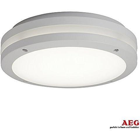 Lampada a LED per esterni IP65/da parete e soffitto rotondo
