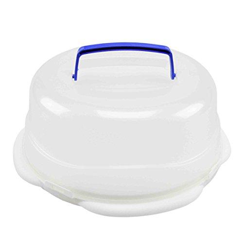 Porte gâteau welk-home Blanc avec plateau cm.Ø26 x 13