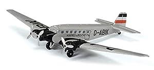 Schuco 403551800 403551800-Junkers Ju 52/3m - Maqueta de Coche (Escala 1:72), Color Plateado
