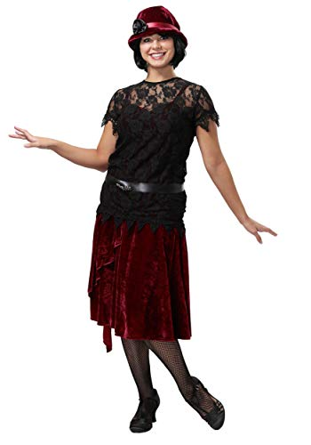 Toe Tappin' Flapper Plus Size Women's Fancy dress costume 1X