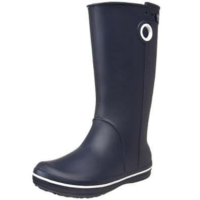 crocs Crocband Jaunt, Damen Kurzschaft Gummistiefel, Blau (Navy 410), 33-34 EU (2 Damen UK)