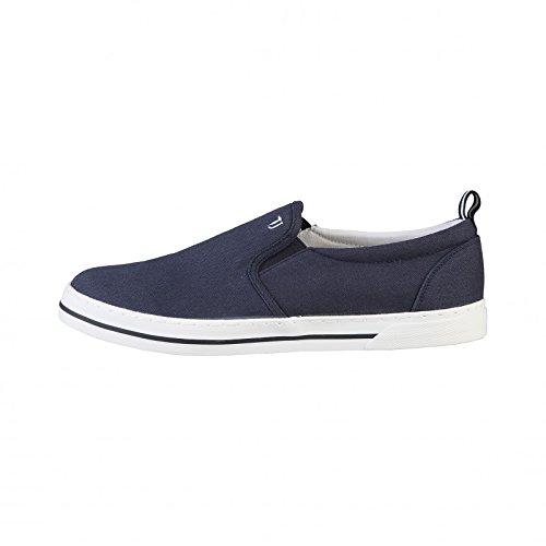 Trussardi Jeans 77S053 Mocassino Uomo Tessuto Blu Blu 42