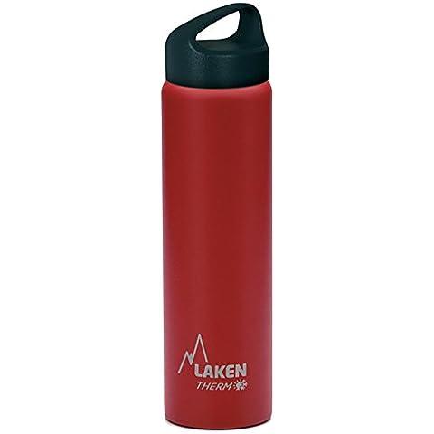 Botella térmica Classic de Laken en acero inoxidable con aislamiento al vacío y boca ancha 750 ml