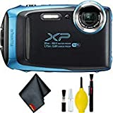 FUJIFILM FinePix XP130 Digital Camera (Blue) Basic Bundle