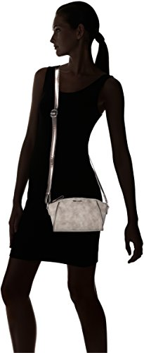Tamaris Damen Delfina Crossbody Bag Umhängetasche, Einheitsgröße Rot (rose comb)