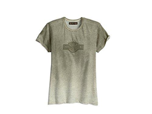 HARLEY-DAVIDSON Women's Tinted Logo Tee Damen T-Shirt, 96297-18VW, S-Lady - Womens Harley Davidson