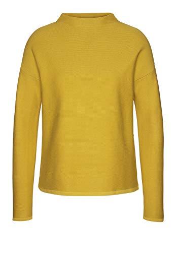 b1f603fe27 armedangels Damen Pullover aus Bio-Baumwolle - Medine - M Mustard Yellow  GOTS, Organic