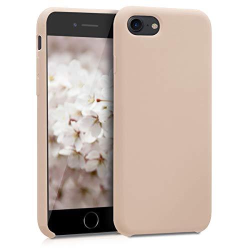 kwmobile Apple iPhone 7/8 Hülle - Handyhülle für Apple iPhone 7/8 - Handy Case in Perlmutt