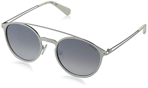Guess Unisex-Erwachsene Sunglasses Gu6921 21B 53 Sonnenbrille, Weiß,