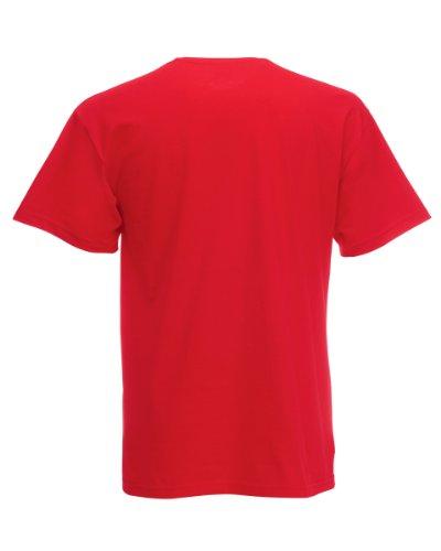 Fruit of the Loom T-Shirt S-XXXL in verschiedenen Farben XXL,Rot