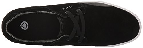 C1RCA Alto, Scarpe da Ginnastica Unisex – Adulto Nero (Black/White)