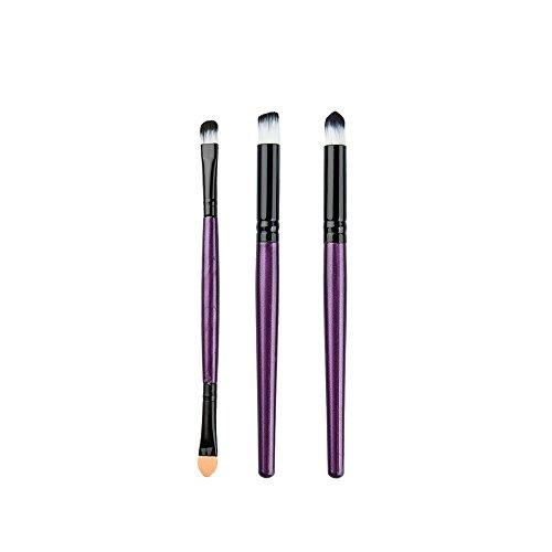 6pcs Pinceaux De Maquillage Brosses de Fard à Paupières Professionnel