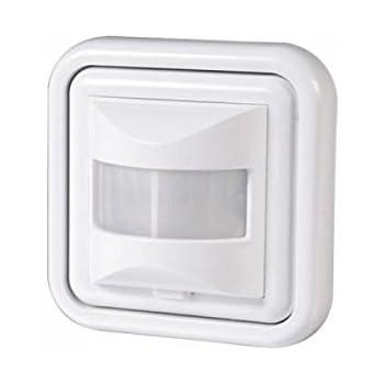 bewegungsmelder 500 w licht schalter led wand einbau infrarot unterputz wei baumarkt. Black Bedroom Furniture Sets. Home Design Ideas
