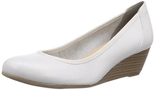 Tamaris 22320, Escarpins femme Blanc - Blanc (100)