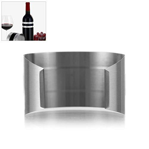 Sarplle Weinthermometer Praktisches Digital Thermometer Flaschenthermometer für Rotwein Weißwein Rosé Sekt Champagner