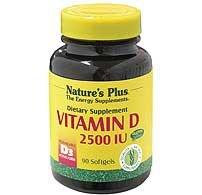 Natures Plus Vitamin D3 2500iu - 90 Softgels by Natures Plus