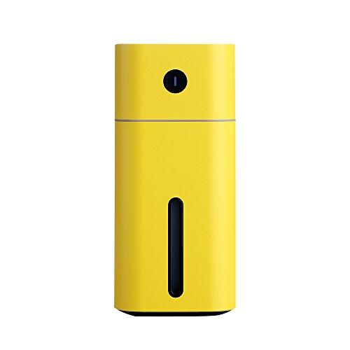 Diffusore per auto umidificatore QSJWLKJ con umidificatore ad ultrasuoni a LED per diffusore di olio essenziale a luce