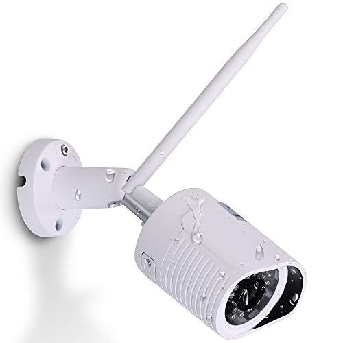 HiKam A7 View (2.Gen) - 1080P Überwachungskamera für Außenbereich | Alexa kompatible | kostenlose Cloud in DE | WLAN IP Kamera HD Outdoor | Datensicherheit mit Deutscher App Anleitung Support
