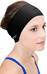 Sync Hair Guard & Ear Guard Headband - Wear Under Swimming Caps B