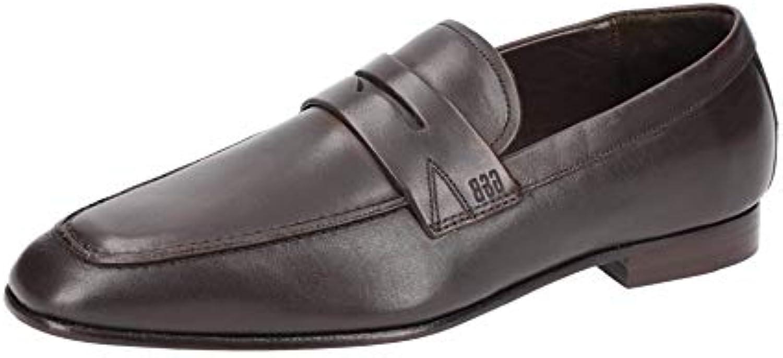 Gordon & Bros 623026 Brown - Mocasines de Piel Lisa para hombre