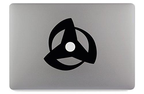 Naruto Mangekyou Sharingan 3 Apple MacBook Air Pro Aufkleber Skin Decal Sticker Vinyl (17