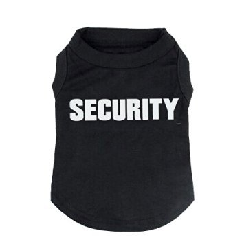 That Dog In Tuxedo Security Officer Dog T-Shirt -S