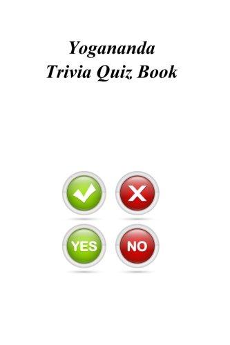 Yogananda Trivia Quiz Book