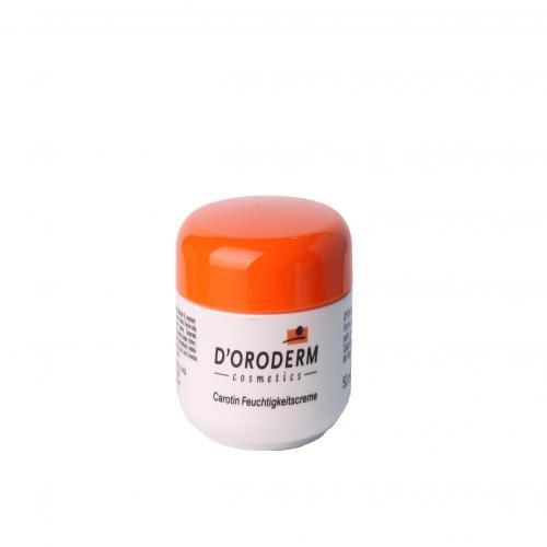 D''oroderm – Carotène Crème hydratante agit contre la sécheresse & vieillissement cutané précoce