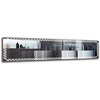 Specchio per Bagno Specchio LED Deluxe Interruttore tattile Bianco Caldo 3000K Specchio con Illuminazione Specchio a Muro Dimensioni dello Specchio 40x40 cm ARTTOR M1CD-46-40x40