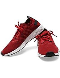 PPRM-10032 Flex_Red Size_10 (Men Shoes)