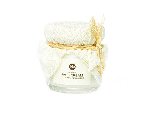 Crème pour le visage au miel; Face cream with honey (40ml) -\