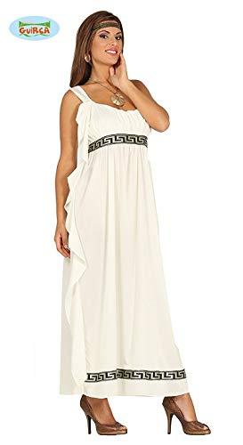 Olympische Göttin Kleid Zum Griechen Kostüm für Damen M - L, Größe:M (Göttin Griechenland Kostüm)