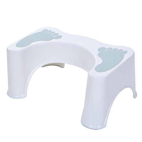HYP-Ergonomische Toilettenhocker Toilettenhocker ErwachseneKinder und Kinder erhöhen Paddel Hocker dicker Kissen Hocker?light blue