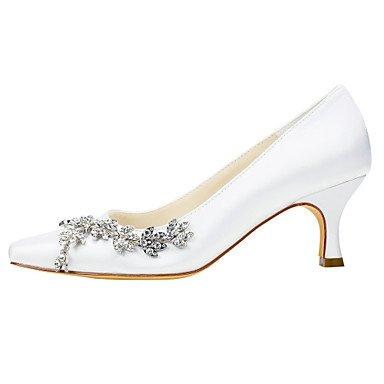 CH&TOU Da donna-Tacchi-Matrimonio / Formale / Serata e festa-Others-A stiletto-Raso elasticizzato-Nero / Rosa / Viola / Rosso / Avorio / Bianco champagne