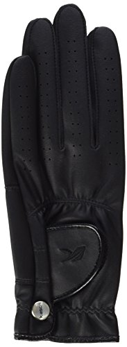 Unbekannt Kasco Women's Fit Fashion Golf-Handschuh, Größe s, Schwarz (Schwarz Golfhandschuh)