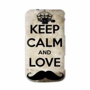 Coque Samsung Galaxy Trend LITE Keep Calm - - - Moustache