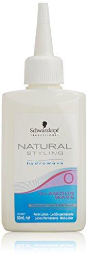 Schwarzkopf natural Styling Glamour Wave 0 Dauerwelle für schwer wellbares, gesundes Haar 80 ml, 1er Pack (1 x 0,08 L)