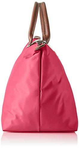 Longchamp Damen Le Pliage Medium Henkeltasche, 20 x 28 x 30 cm Pink (Rose)