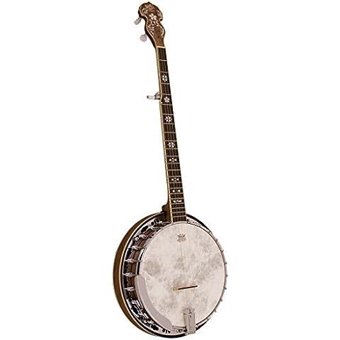 "Barnes Mullins BJ500BW & Empress Banjo a 5 corde, in noce """