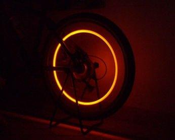 outad wasserdicht 30 led fahrrad felge lichter f r mtb rad gummireifen. Black Bedroom Furniture Sets. Home Design Ideas