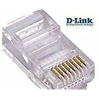D-Link(INDIA) RJ45 Connector Module Plugs - Pack of 100 Nos